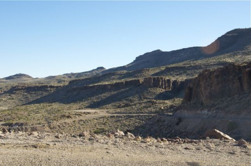switchback on Route 66